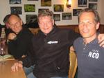 Andreas Krause (Entrada), Michaek Zajusch (Barracuda) und Andreas bechthold (Infinigate)