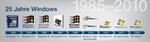 Zeitreise durch die Windows-Desktops
