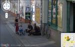 Dresdner Punks beim Kaffeklatsch