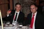 Markus Bauer von Systeam und Oliver Lochte von Document Technology...