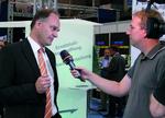 IT-Haus-Geschäftsführer Thomas Simon wird vom SWR interviewt