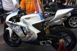 Elektro-Motorräder sehen auf der Intersolar schnittig aus