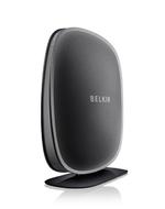 Der »Play N450 DB« Wireless N Router bietet zusätzlich zu den Funktionen des Surf N300 simultanes Dualband WLAN auf dem 2,4 Ghz und 5 Ghz Frequenzband. Belkin empfiehlt einen Verkaufspreis von 59,99 Euro.