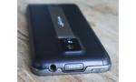 LG Optimus Speed  Dazu gesellt sich eine Ausstattung, die mit HSPA, schnellem n-WLAN, HDMI-Ausgang für den Flatscreen und einer 8-Megapixel-Kamera, die Videos in Full-HD-Auflösung dreht, keine Wünsche offen lässt. Auch der 4 Zoll große Touchscreen