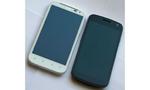 Design und Verarbeitung  Beide Modelle fast gleich groß (Sensation XL: 132.5 x 70.7 Millimeter, Galaxy Nexus: 135.5 x 67.94 Millimeter). © connect