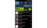 Samsung Galaxy S2 LTE  Koreanische Spezialitäten: Zusätzlich zum normalen Android-Market bietet Samsung auch für das Galaxy S2 LTE eine Auswahl handverlesener Apps an. © connect