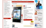 Kaufland hält mit dem Optimus L3 dagegen – ebenfalls für 99 Euro. Welches Smartphone ist besser? © connect