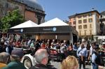 Der HP VIP Pavillon direkt an der Strecke der Mille Miglia