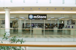 Im Berliner mStore in den Spandau Arkaden  ging das Pilotprojekt QR Shopping im März an den Start