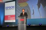 Epson President Minoru Usui, Bild: crn.de