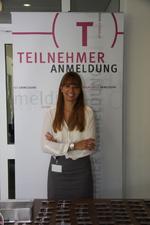 Christina Gottwald bereitete den Gästen des ITK Media Summits einen schönen Empfang (Bild: CRN)