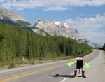 Daumen raus - Hitchbot will per Anhalter Kanada durchqueren (Bild: Hitchbot)