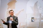 Sascha Lekic, Director Sales B2B im Bereich IT & Mobile Communications bei der Präsentation des Galaxy Tab Active (Foto: Samsung)