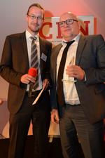 Den Start machte Volker Zinser von Kaspersky, der eine Auszeichnung in der Kategorie Security erhielt
