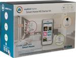 D-Links Starter Kit fürs Smart Home Das »mydlink Home Starterkit« macht das Smart Home komfortabler und sicherer. Die WLAN-basierte Lösung ermöglicht die komfortable Kontrolle und Steuerung des digitalen Zuhause über die mydlink Home App für iOS ode