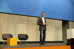 AWS-Deutschland-Chef Martin Geyer hieß die Teilnehmer willkommen. (Foto: CRN)