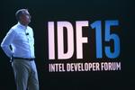 Brian Krzanich bei der Eröffnung des Intel Developer Forums (IDF) in San Francisco (Bild: Intel)