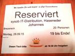 Im Café Kaiserschmarrn hatte Sysob reserviert (Foto: CRN)