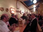 Doch am Ende hatten sich alle entschieden und das Essen kam (Foto: CRN)