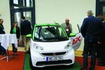 Dieses E-Smart Cabrio wird am 31. Dezember unter den Partnern von APC by Schneider Electric verlost (Foto: CRN)