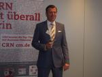 Den Gewinnerreigen eröffnete Olaf Sepold von Oki (Foto: CRN)