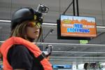 Auch Actioncams können live getestet werden (Foto: Expert)