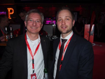 Thomas Jell von TP-Link zusammen mit CRN-Redakteur Peter Tischer (Foto: CRN)
