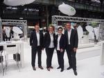 Das neu formierte Management: (v. links) Reiner Schwitzki, Simone Blome, Sylke Robrecht und Christoph Dietz (Bild: CRN)