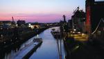 Der alte Zollhafen von Neuss bot den perfekten Veranstaltungsrahmen (Foto: CRN)