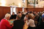 Geselliges Zusammensein beim sysob Gipfeltreffen (Bild: sysob)
