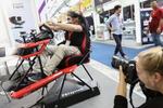 Messebesucher konnten viel ausprobieren, zum Beispiel einen 3D-Simulator von Pnisystem getestet (Bild:IFA)