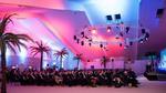 Keynote unter Palmen im Beachclub Chamäleon (Bild: Dell EMC)