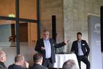 CTO Hans Deutinger und Dirk Krüger widmeten ihren Vortag OfficeMaster EntryControl und der Cloud Connector Edition von Microsoft Office 365. Foto: Ferrari electronic