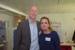 Carolin Schlüter von der CRN zusammen mit Marc Fischer von Ebertlang (Foto: CRN)