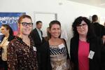 Drei Engel für Weka: Natalie Ziebolz (funkschau), Alexandra Krohn und Maren Sauter (beide Akima Media) (Bild: CRN)