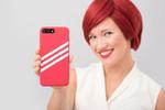 adidas Originals Gazelle iPhone 7 case (rot) von Telecom Lifestyle Fashion (Foto: Messe Berlin)