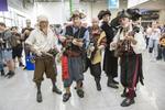 Fantasievoll kostümierte Cosplayer sind seit Jahren ein Eyecatcher auf der Kölner Spielemesse...(Bild: Koelnmesse)