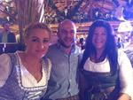 Beste Stimmung bei Katharina Trautmann und Christoph Reisinger von Bechtle sowie Katja Schraml von Buffalo  (Foto: CRN)