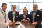 Das C4B-Tourteam in München: Dominik Schlosser, Thomas Dirnberger, Peter Schittko und Dieter Neumann (Foto: C4B)