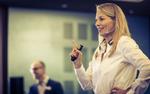Tanja Hilpert, Director Sales Middle Europe bei Axis, gibt einen Ausblick auf die künftige Partnerstrategie des Pioniers für IP-Video, Foto: Michael Kuhlmann