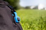Der GPS-Tracker »V-Bag« von TLC behält Taschen und Koffer immer im Blick (Bild: Vodafone)