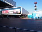 Ein Blick auf das RAI-Messezentrum (Foto: CRN)