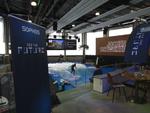 Die Jochen Schweizer Arena bot mit Bodyflyern und Surfern auch abseits des Themas IT-Sicherheit etwas zum Kucken (Foto: CRN)