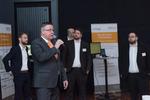Acmeos Marketingleiter Udo Schillings informiert die Teilnehmer über die anstehenden Vorträge (Foto: Acmeo)