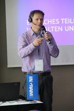 Mathias Fürlinger von Qnap sprach über Trends im NAS-Markt (Foto: Ingram Micro)