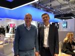 Tech Data-Chef Michael Dressen (links) mit Sascha Lekic, Director IM B2B Samsung Deutschland (Bild: CRN)
