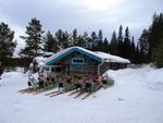 Die Basisstation für die Schlittenhundetour: eine Lodge in der Region Nord-Dalarna bei Särna (Foto: Buffalo)
