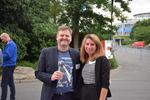 Thomas Ebert und Tina Schneider (beide WEKA FACHMEDIEN) sorgten für eine herzliche Begrüßung der Gäste (Foto: CRN)