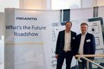 Die Prianto-Geschäftsführer Oliver Roth (li.) und William Geens eröffneten die Roadshow (Bild: Prianto)