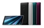 Die Smartphone-Sparte Sony Mobile Communications zeigte das neue Flaggschiffmodell »Xperia XZ3« mit gebogenem 3D Glas-Design, das fließend in das OLED Display übergeht. (Bild: Sony)